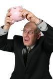 Onde está o dinheiro ido! Fotos de Stock