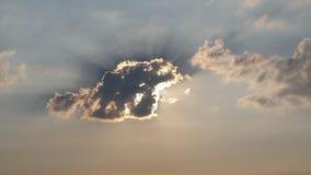 Onde está o sol? Foto de Stock