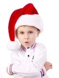 Onde está Santa? Fotografia de Stock Royalty Free
