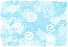Onde ionosphérique bleue Photos libres de droits