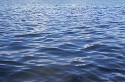 Onde nell'acqua del lago Fotografie Stock