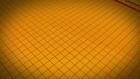 Onde orange illustration de vecteur