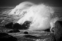 onde puissante Image stock