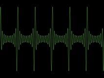 Onde sinusoïdale modulée Photos libres de droits