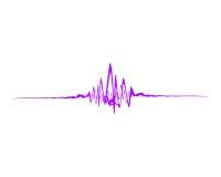 onde sonore Photographie stock libre de droits