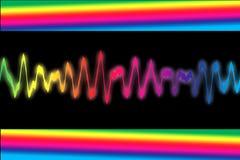 Onde sonore Photos libres de droits