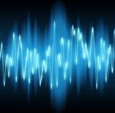 onde sonore Photo libre de droits