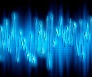 Onde sonore extrême Photos libres de droits
