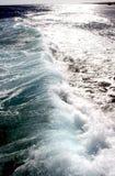 Onde sul Mar Rosso immagini stock