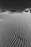 Onde sulla duna di sabbia Immagini Stock Libere da Diritti