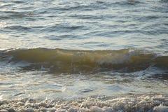 Onde sulla spiaggia Immagini Stock Libere da Diritti