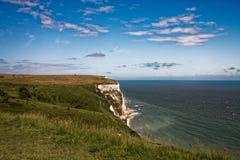 Onde a terra encontra o mar Foto de Stock