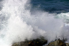 Onde tombante en panne Photo libre de droits