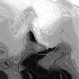 Ondeggi il fondo monocromatico del marmo di pendenza, struttura di marmo decorativa Struttura moderna del grunge Illustrazione Vettoriale