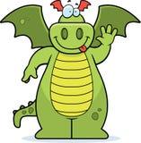 Ondeggiamento del drago Fotografia Stock