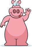 Ondeggiamento del maiale illustrazione vettoriale