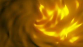 Ondeggiamento dorato astratto del tessuto archivi video