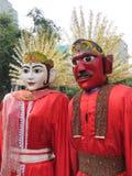 Ondel-ondel Jakarta arkivfoton