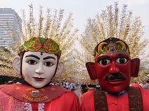 Ondel-ondel Jakarta. Ondel-ondel is a giant puppet, a folk art of Betawi culture Stock Photography