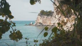 Ondenkbaar mooi en fascinerend rotsachtig terrein stock videobeelden