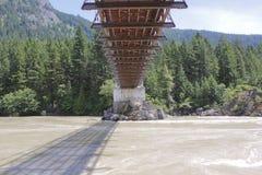 Onder Alexandra Bridge royalty-vrije stock fotografie