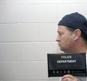 Onder arrestatie Royalty-vrije Stock Foto