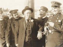 Onder arrestatie stock foto