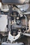 Onder de auto Stock Afbeelding
