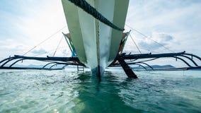 Onder de boot Royalty-vrije Stock Foto