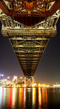 Onder de brug Stock Fotografie