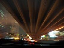 Onder de brug Stock Afbeelding