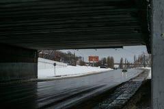 Onder de brug Royalty-vrije Stock Foto