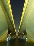 Onder de brug van de Weg Royalty-vrije Stock Afbeeldingen