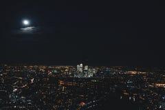 Onder de maan stock foto