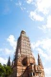 Onder de pagode van Samentrekkingen Stock Fotografie