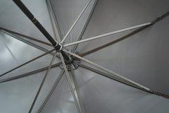 Onder de paraplu Royalty-vrije Stock Foto
