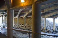 Onder de snelweg Stock Fotografie
