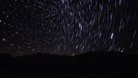Onder de sterren stock footage
