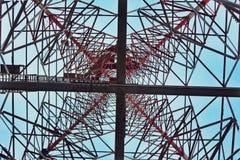 Onder de toren Royalty-vrije Stock Fotografie