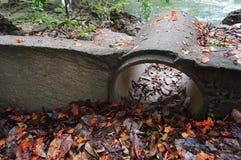 Onder de tunnel Stock Afbeelding