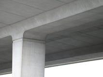 Onder een cementweg Stock Afbeelding