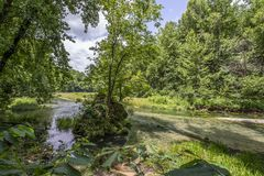 Onder grondbronwater Royalty-vrije Stock Fotografie