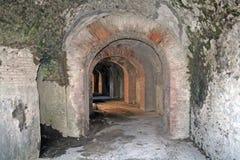 Onder het theater van Pompei stock fotografie