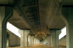 Onder het Viaduct Stock Foto