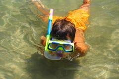 Onder het water Stock Afbeeldingen