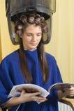 Onder meer hairdryier Stock Afbeelding