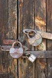 Onder slot en sleutel Royalty-vrije Stock Foto's