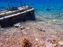Onder Zeewater stock foto's