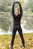 Onderbreking tijdens jogging Royalty-vrije Stock Fotografie