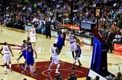 Ondergedompeld basketbal Royalty-vrije Stock Afbeelding